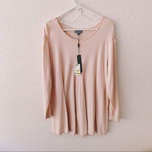 Joseph A - Peony Pink Sweater Tunic